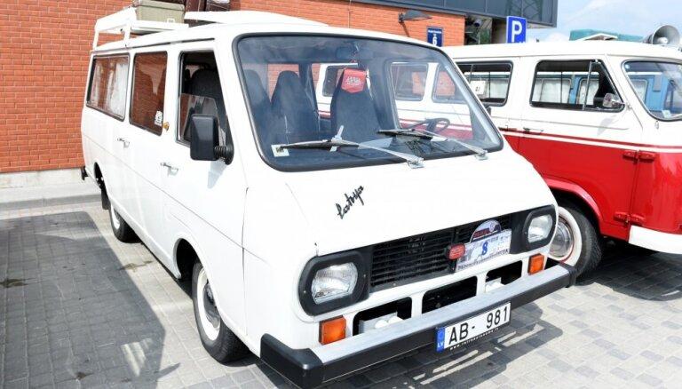 Jelgavā nav informācijas par ukraiņa ieceri pilsētā atjaunot RAF mikroautobusu ražošanu