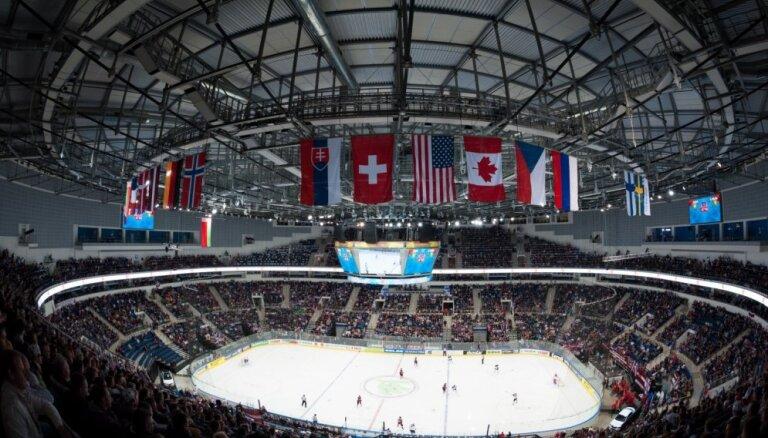 ASV, Kanāda, Krievija un Somija izcīna uzvaras pēdējās spēlēs pirms PČ
