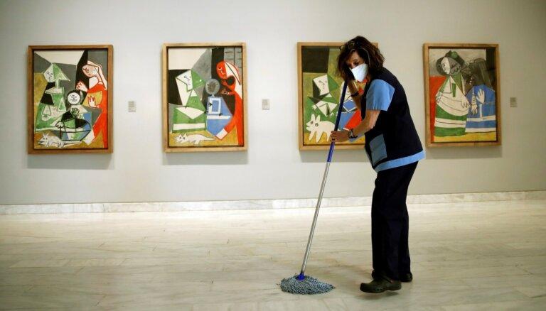 Tehnoloģijas palīdz zem slavenas Pikaso gleznas atklāt līdz šim nezināmu skici