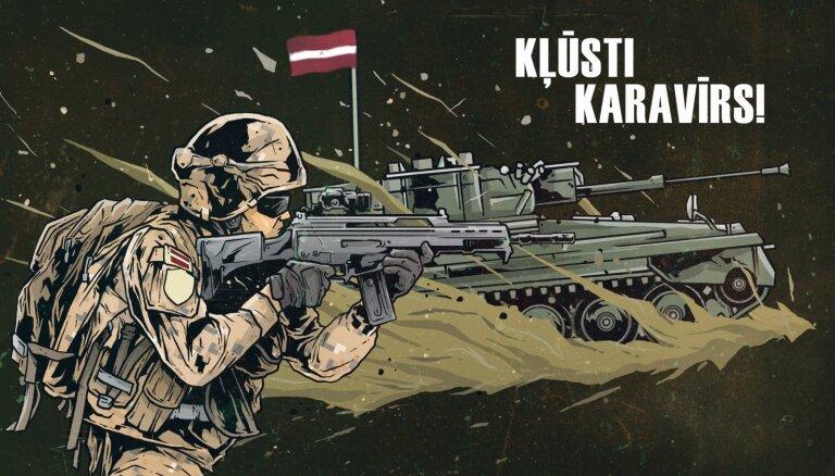 Latvijas armija: Mums ir tev ko piedāvāt, kļūsti karavīrs