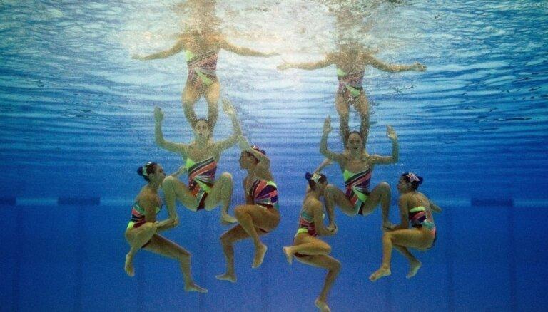 Sinhronā peldēšana
