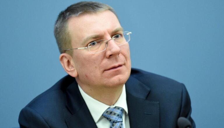 Ринкевич едет на Украину: обсудит Крым и откроет посольство Латвии в Запорожье