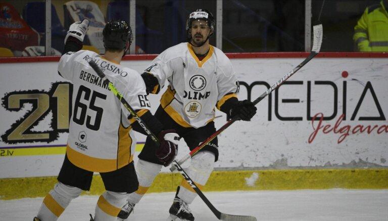 Rēdlihs ar 2+1 palīdz 'Olimp' uzvarēt pirmajā OHL finālspēlē