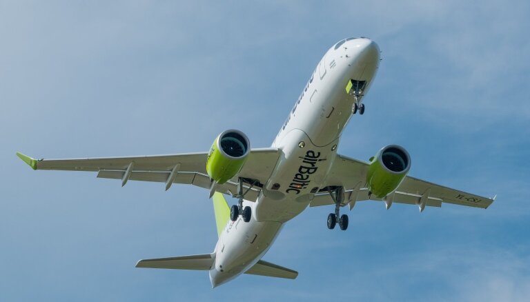 'airBaltic': 2025. gads ir vēlākais, kad tiks atklāti tiešie reisi no Baltijas uz ASV