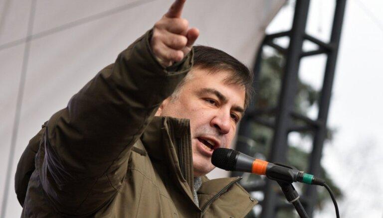 """Прибыл """"ремонтировать"""" Украину: как Киев встретил Саакашвили"""