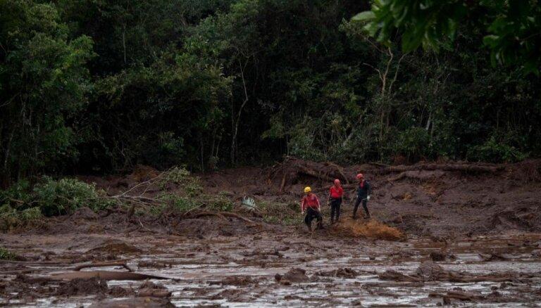 Traģēdijā Brazīlijā bojāgājušo skaits pieaudzis līdz 34