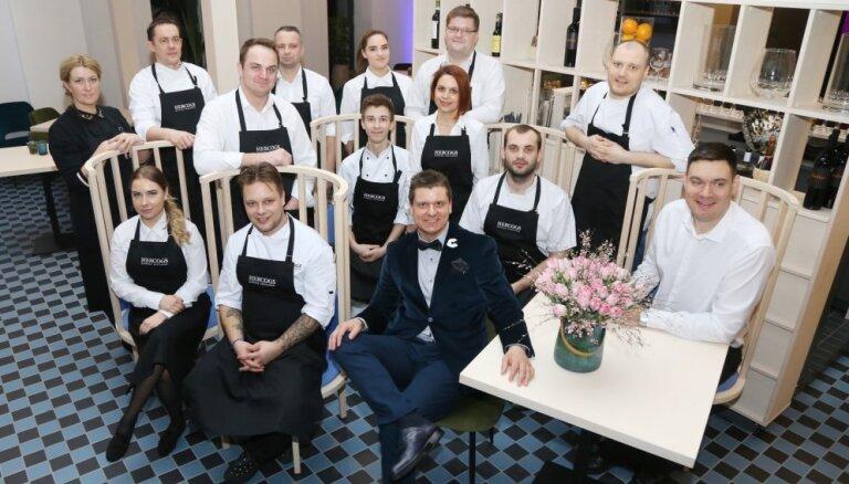 Ar grandiozu atklāšanu Ādažos apmeklētājiem atvērts lielākais ģimenes restorāns Hercogs