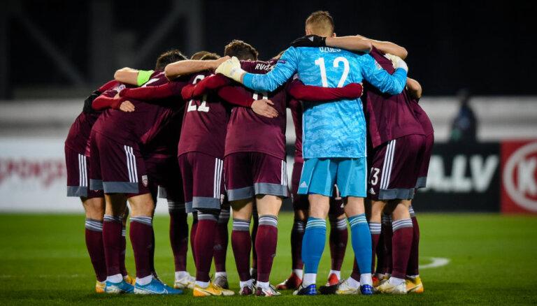 Nepalikt pēdējiem! Latvijas futbolistiem gada noslēdzošā cīņa Andorā