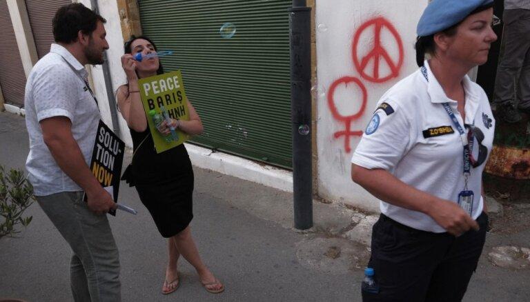 Ženēvā atsākas Kipras atkalapvienošanās sarunas