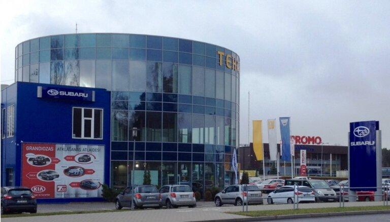 Valmierā 'Subaru' atver pirmo autorizēto pārstāvi ārpus Rīgas