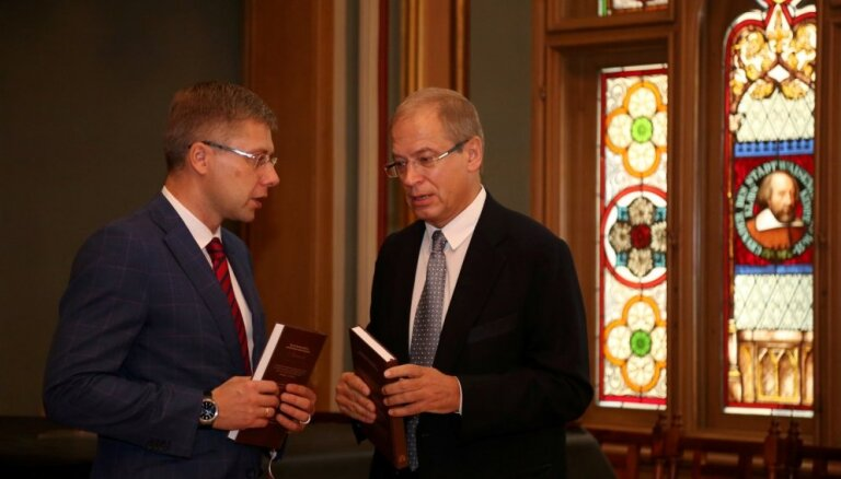 Названы политики, которые могут занять места Ушакова и Америкса в Рижской думе