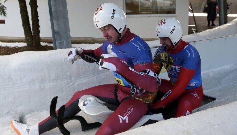 Kamaniņu divnieks Šici izcīna ceturto vietu Pasaules kausa posmā Leikplesidā