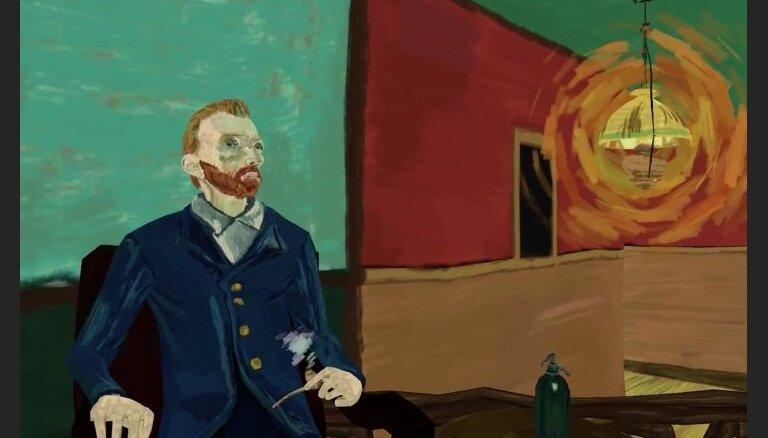 Unikāls video: Ieskats Vinsenta van Goga gleznā