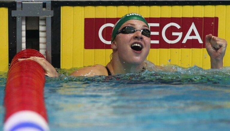 Lietuvas peldēšanas zvaigznei Meilutītei dopinga pārbaužu izlaišanas dēļ draud diskvalifikācija