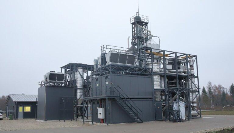 Pērn koģenerācijas stacijās saražotais elektroenerģijas daudzums pieaudzis par 39%
