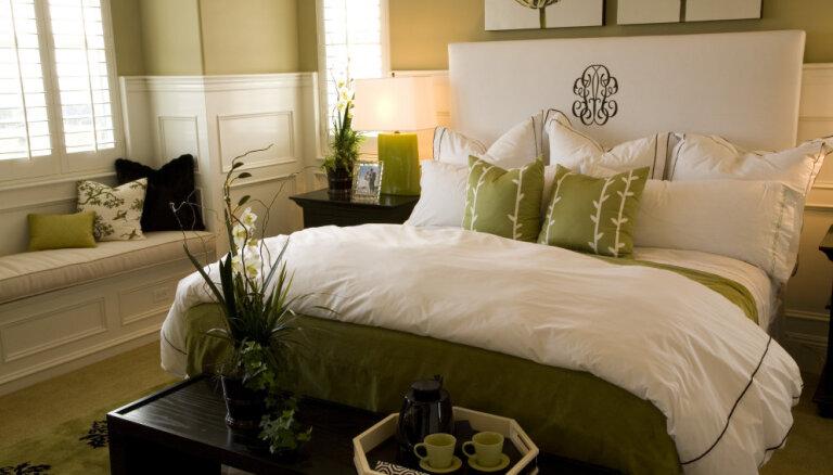 Kļūdas, kas tiek pieļautas guļamistabas kārtības uzturēšanā