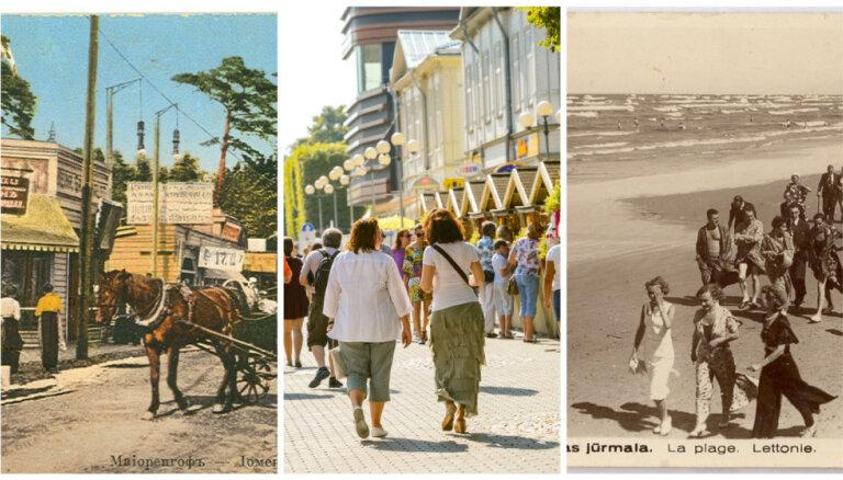 Ceļojums laikā: Sevi parādīt un uz citiem paskatīties – Rīgas jūrmala kādreiz un tagad