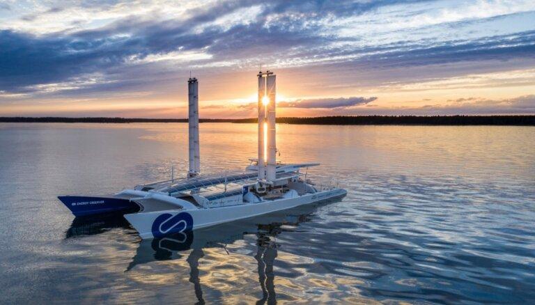 Pasauli apceļojošā katamarānā izmanto 'Toyota' ūdeņraža tehnoloģiju