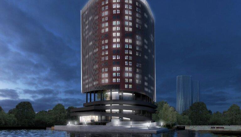 ФОТО: Контролируемый российским бизнесменом девелопер за 30 млн евро построит офисную высотку неподалеку от Swedbank