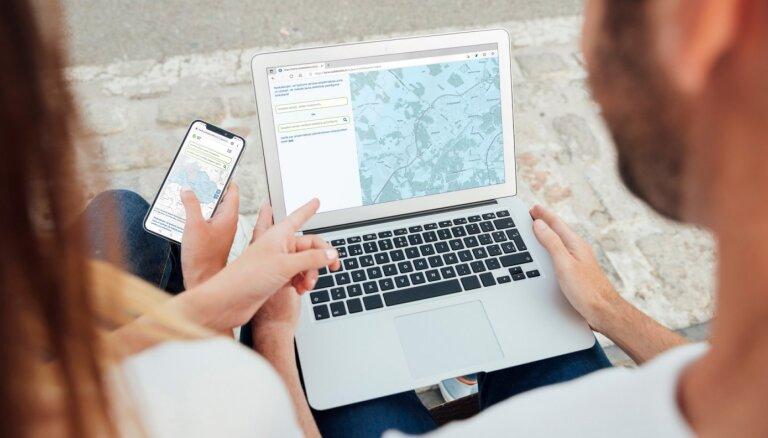 Sadales tīkls запустила интернет-карту, позволяющую посчитать цену подключения к электросети