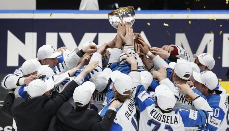 Somijas hokejisti sensacionāli triumfē pasaules čempionātā