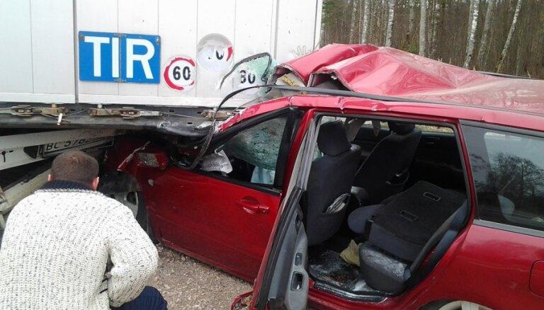 Visbiežāk bez OCTA avārijas izraisa Alūksnes, Jēkabpils un Ludzas rajonā