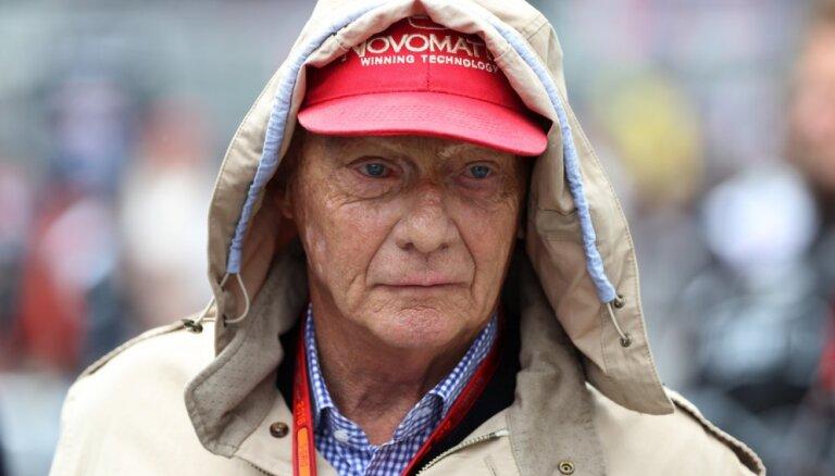 Miris austriešu uzņēmējs un 'Formula 1' pasaules čempions Nikijs Lauda