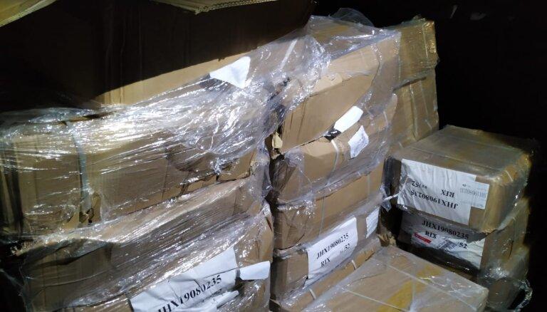 VID liedz no Ķīnas ievest narkotiku pagatavošanai nepieciešamos ķīmiskos prekursorus