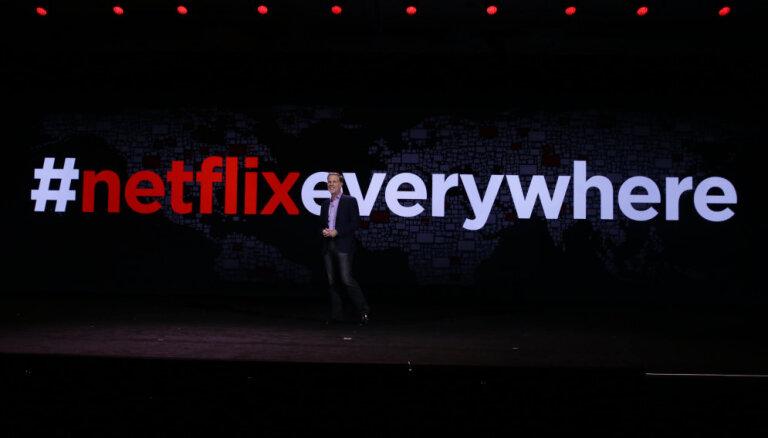 Сервис интернет-телевидения Netflix начал работать в Латвии