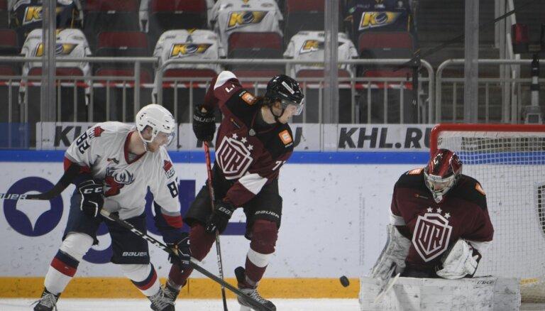 Rīgas 'Dinamo' sezonas rezultatīvākajā spēlē piekāpjas 'Torpedo'