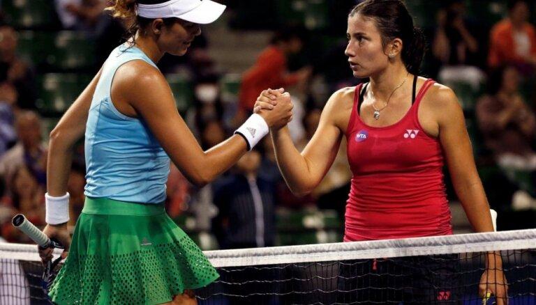 Sevastovas uzvara 'US Open' pār Mugurusu - viena no sezonas sensācijām