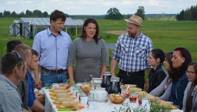 Foto: Pirmais ieskats šova 'Lauku sēta' saimniecībā
