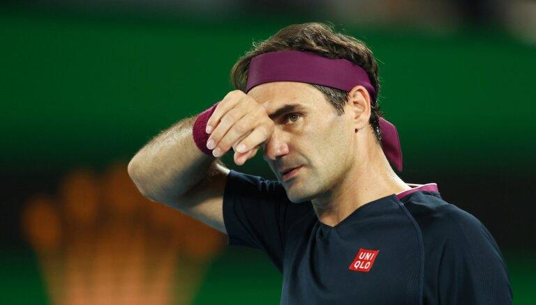 Federers šogad tenisa laukumā neatgriezīsies
