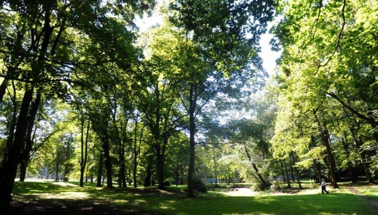 Rīgas dome piešķir 742 368 eiro Aldara parka atjaunošanai