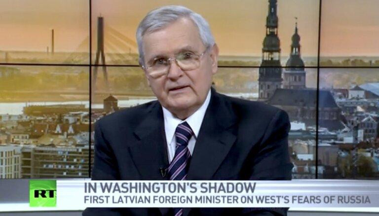 Kremļa propagandas rupors 'Russia Today' strādājis no LTV studijas