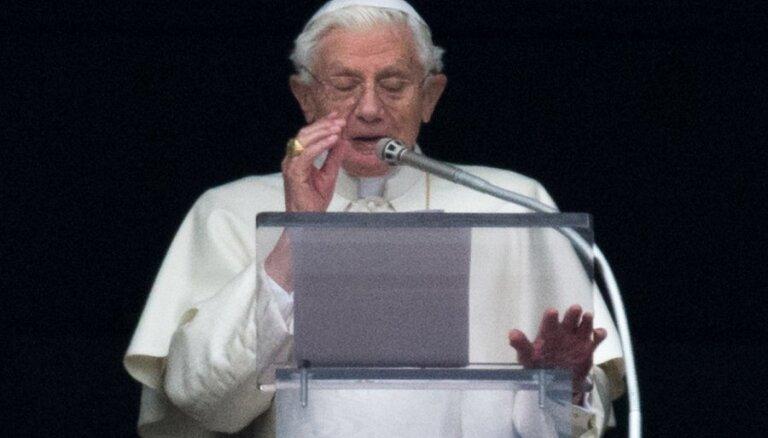 Benedikts XVI pedofilijas krīzē vaino 1968. gada revolūciju