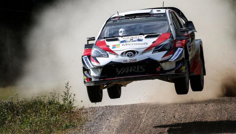 Igaunis Tanaks izcīna uzvaru WRC Somijas rallijā