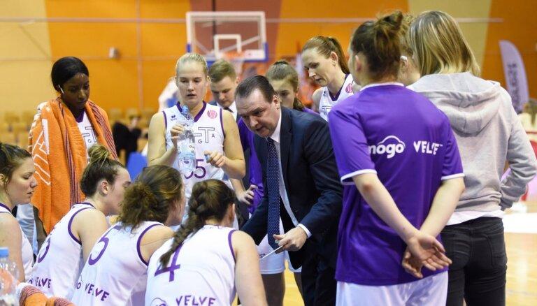 Lielākā uzvara Latvijas sieviešu basketbola klubu vēsturē, uzsver 'TTT Rīga' treneris Zībarts