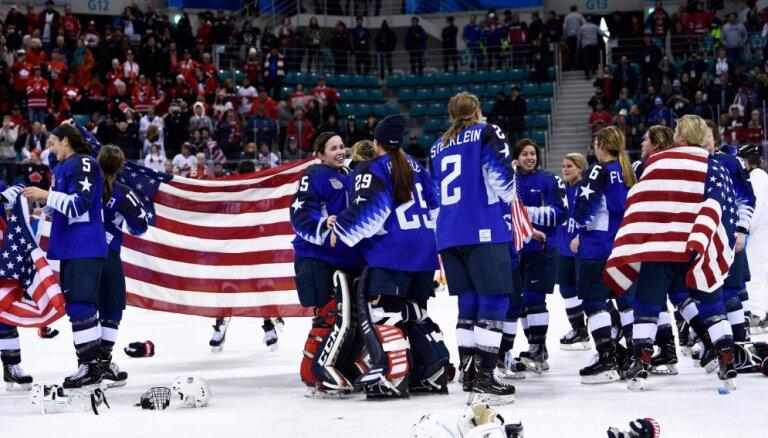Хоккеистки сборной США впервые за 20 лет стали чемпионками Олимпиады