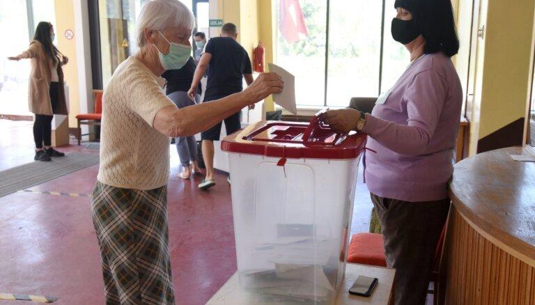 Выше всего явка избирателей в Юрмале и Вентспилсе