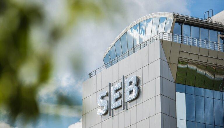 SEB grupas Latvijā peļņa pirmajā ceturksnī pieaugusi par 6 miljoniem eiro