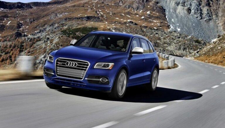 Продажи Audi в Латвии выросли в полтора раза