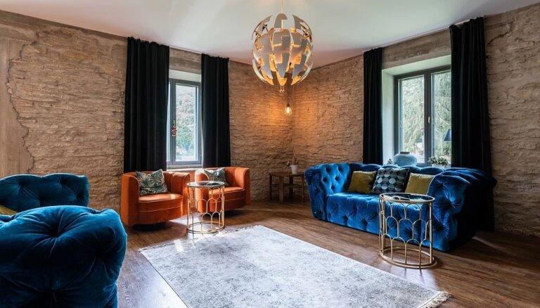 """ФОТО. """"Арт-хаузз"""": Как старый эстонский дом из известняка стал произведением искусства"""