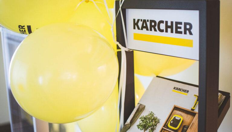 Немецкий гигант Karcher откроет производство в Латвии