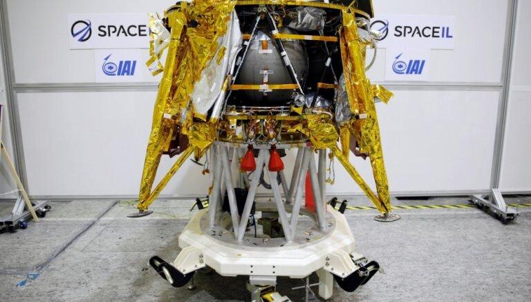 Izraēla plāno piektdien nosūtīt kosmosa zondi uz Mēnesi