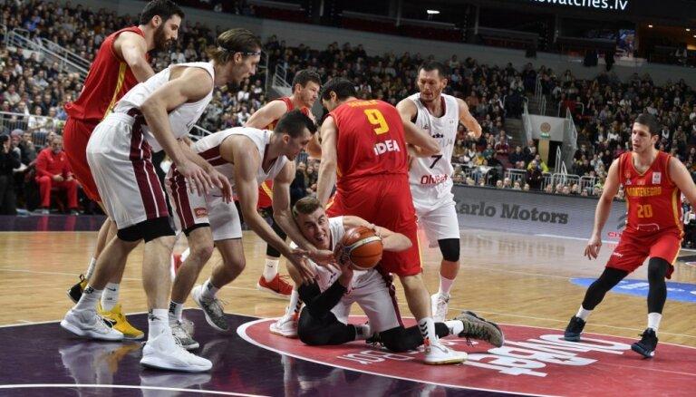 Melnkalnes basketbola izlasei pret Latviju nepalīdzēs divi saspēles vadītāji
