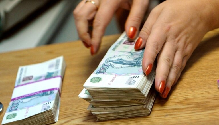 Krievijas ekonomika pirmajā ceturksnī samazinājusies par 1,9%