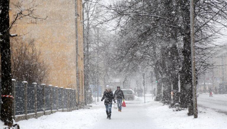 Во вторник ожидается снегопад, возможна метель