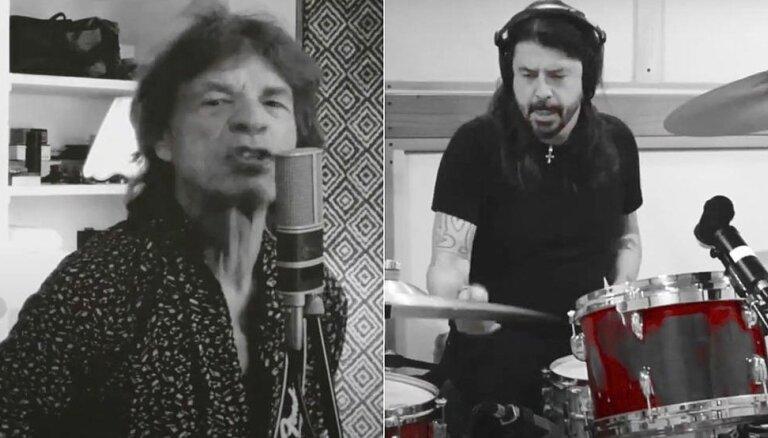 Džegera un Grola jaunajā klipā izmantoti Latvijas uzņēmuma 'JZ Microphones' mikrofoni