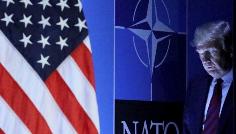 Конгрессмены запретили Дональду Трампу выводить США из НАТО
